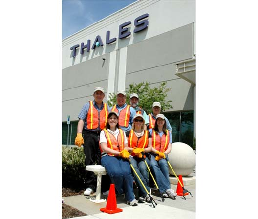 Thales Communications Volunteers