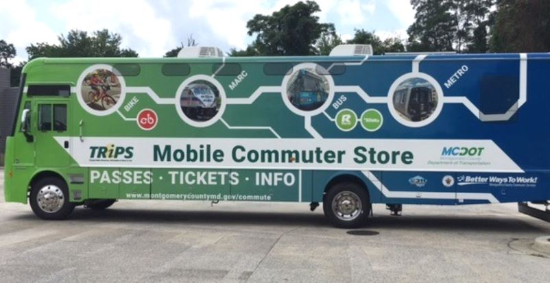 Mobile Commuter Store van