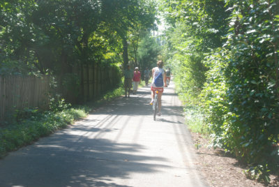Bethesda Trolley Trail South of Edson Lane