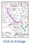 Click to enlarge map of Bradley Blvd Bikeway