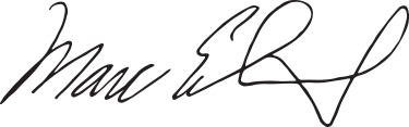 signature of County Executive Marc Elrich