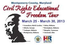 Civil Rights Educational Freedom Tour Mar 25 - 30, 2013