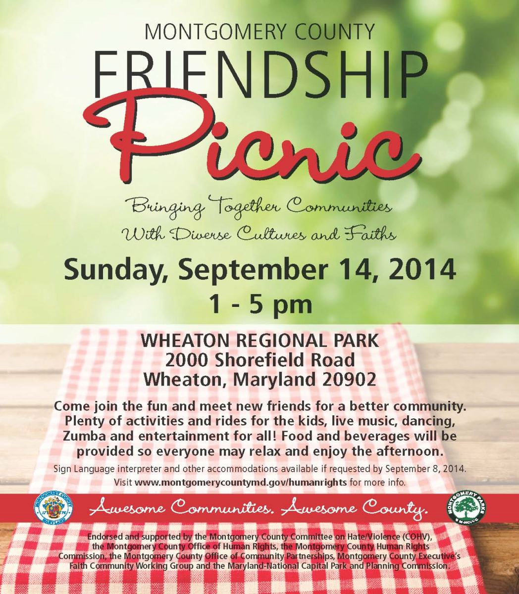 2014 Friendship Picnic