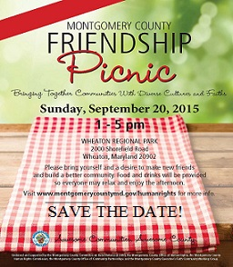 2015 Montgomery County Friendship Picnic