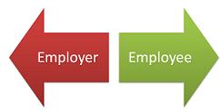 Employer and Employee image
