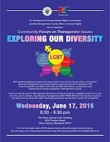 Exploring Our Diversity:Transgender Forum