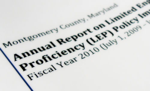 Download Annual Report on LEP Policies, FY2010 now