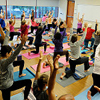 yoga at Olney Library