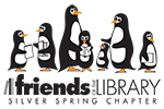 Friends of the Library Silver Springs Logo