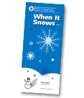 graphic of When It Snows brochure