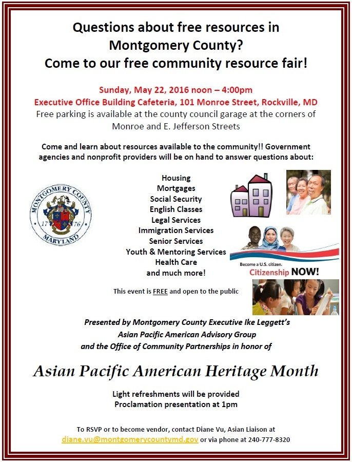Asian Pacific American Month on May 22