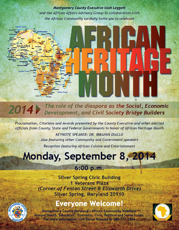 African Heritage Month 2014