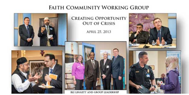 Faith Community Working Group collage