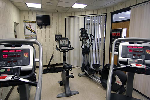 exercise room view 2