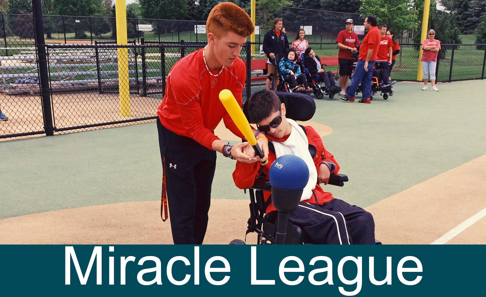 miracle league player
