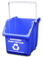 Image: Blue Bin for your apartment/condo