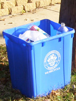 Image: 22-gallon Recycling Bin