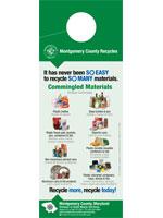Image: Recycling Doorhanger (SORRT) - bilingüe