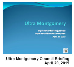 Ultra Montgomery Council Briefing