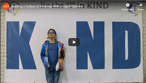 Image link to Youtube video of Edutopia highlighting Tilden MS Day of Service